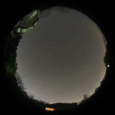 2012年4月21日 城里町ふれあいの里天文台にて