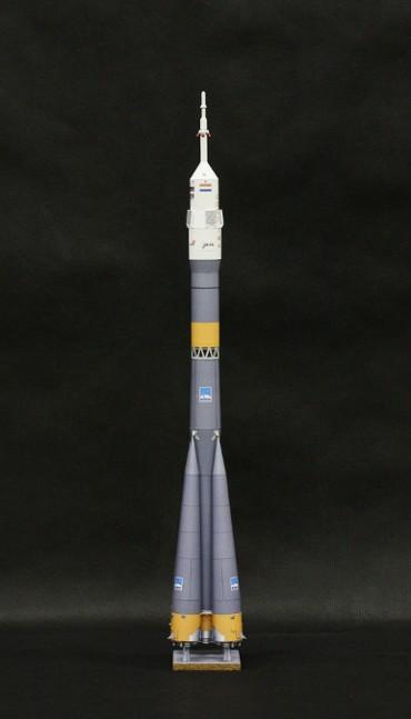 1/100スケールペーパークラフトによる ソユーズ-FG(Mission DELTA)
