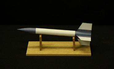 実物大ペーパークラフトによる ペンシルロケット