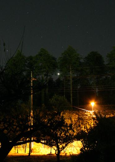 明けの明星 2012年10月24日(トリミング)