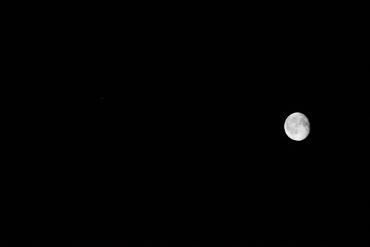 月と木星 2012年11月2日 その1