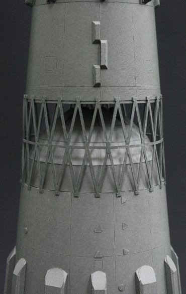 N-1ロケット 第一段〜第二段 段間のトラス