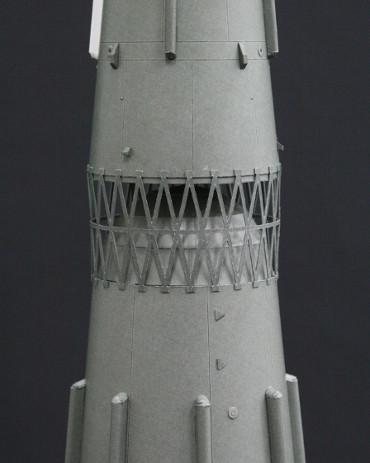 N-1ロケット 第二段〜第三段 段間のトラス