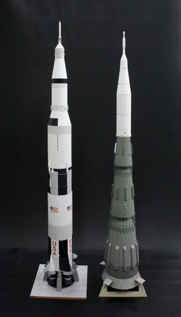 サターンⅤ型 と N-1