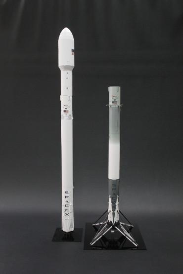 ファルコン9 20号機 打ち上げ時の姿と着陸した第一段