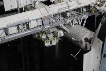 「予備ポンプモジュール」が設置された「ESP-2」