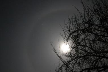 月の笠 2007年1月4日