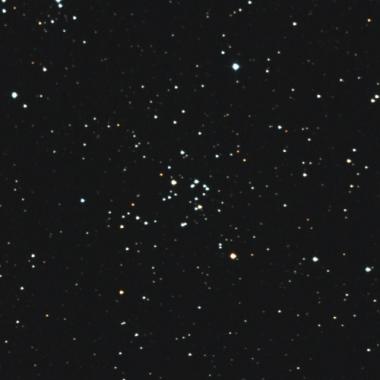 画像:ペルセウス座の散開星団NGC1496