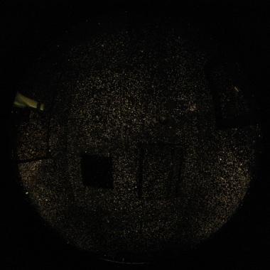 PPLS-1 試験投影の実写画像・天の北極
